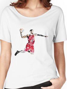 Derrick Rose Shirt Design Women's Relaxed Fit T-Shirt