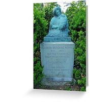 Auguste Rodin - commissioned by Thomas Davis Merrill, Middleburg VA  Greeting Card