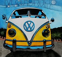 VW Smile by samcannonart