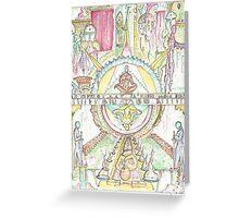 Mirror Soul Greeting Card
