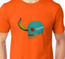 Pop Art Skull Banana T Shirt Unisex T-Shirt