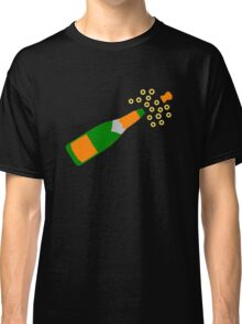 Champagne Bottle and Popping Cork Classic T-Shirt