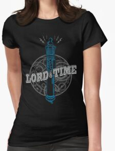 Steampunk Dr Who Womens Fitted T-Shirt