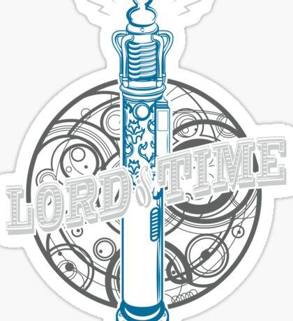 Steampunk Dr Who Sticker