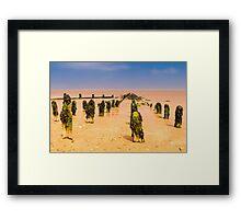 Post army Framed Print