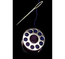 ? ? THREADED NEEDLE AND SPOOL IPHONE CASE? ? by ✿✿ Bonita ✿✿ ђєℓℓσ