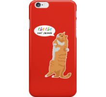 Cha Cha Real Smooth iPhone Case/Skin