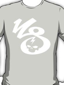 KrakkdSkullz - KS Logo - White T-Shirt