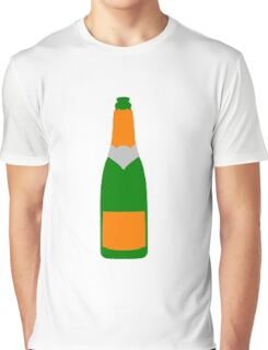 Champagne bottle Graphic T-Shirt