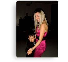 Dancing with my Mom Canvas Print