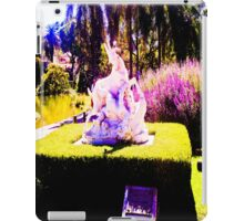 Stop animal abuse, human. iPad Case/Skin