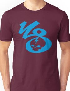 KrakkdSkullz - KS Logo - Cyan Unisex T-Shirt