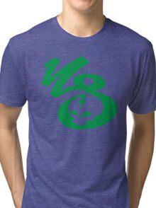 KrakkdSkullz - KS Logo - Green Tri-blend T-Shirt