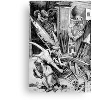Sculptures Despair. Canvas Print