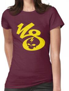 KrakkdSkullz - KS Logo - Yellow Womens Fitted T-Shirt