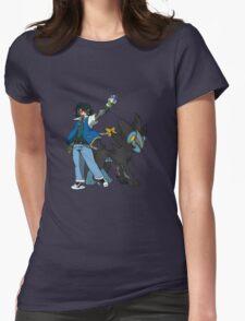Metal Gear Pokemon Womens Fitted T-Shirt