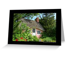 Pink Play House - Planting Fields Arboretum State Historic Park - Upper Brookville, New York Greeting Card