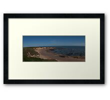 The Bay - Pano (View Large) Framed Print