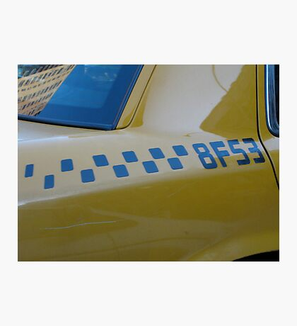 Taxi . . . Photographic Print
