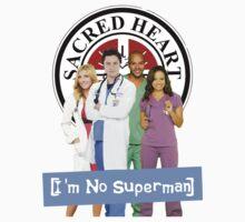 I'm no Superman - Scrubs One Piece - Short Sleeve