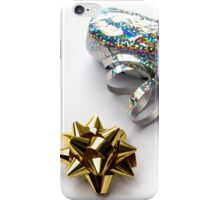 Gift Wrap Shiny Bow and Ribbon iPhone Case/Skin