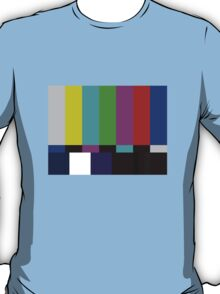 Sheldon Cooper's Test Pattern T-Shirt