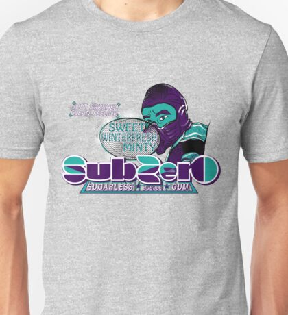Sub-Zero Winterfresh Minty  Unisex T-Shirt