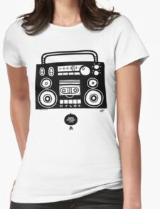 Boomboombox Womens Fitted T-Shirt