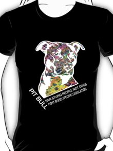 Pitbull BSL White T-Shirt