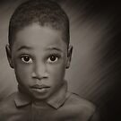 Caleb In B&W by Pat Abbott