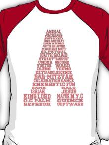 Word Association - Red Gradient T-Shirt