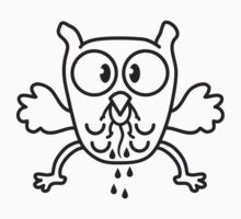 Owl Eats Mouse by Style-O-Mat