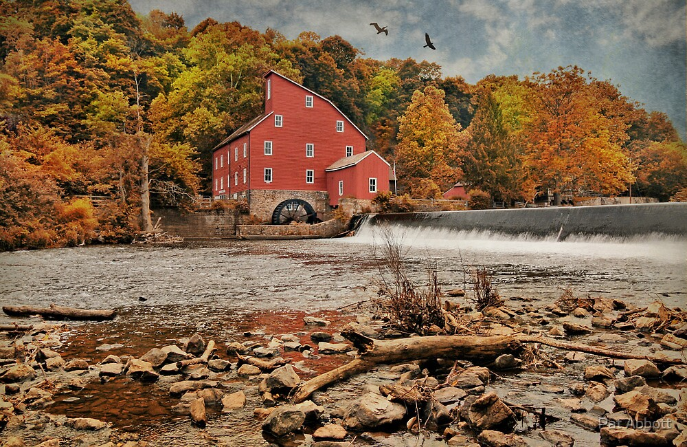 Red Mill Autumn 2009 by Pat Abbott