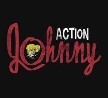 Action Johnny Logo Kids Tee