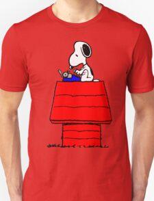 Typewriter Snoopy T-Shirt