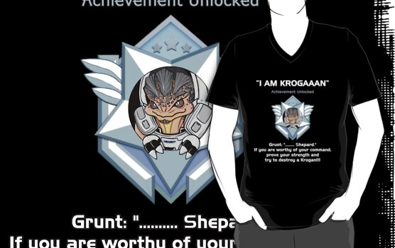 ME2 - I AM KROGAN by Rhaenys