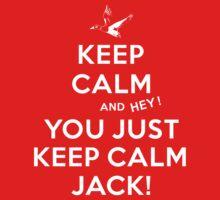 Keep Calm Jack! Baby Tee