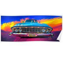 "1961 Dodge Dart (phoenix) ""Dave's Ride"" Poster"