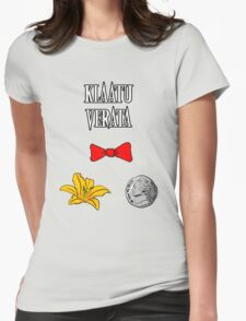 Definitely an N word Womens Fitted T-Shirt