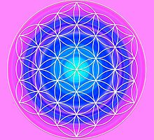 Flower of Life Sacred Geometry 2 by haymelter