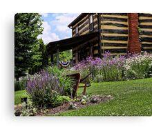Front Yard Garden Canvas Print