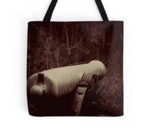 Battlefield Cannon Tote Bag