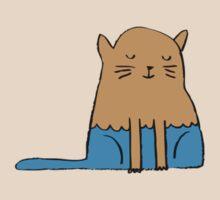 Fat Cat Alone by YokohamaMama