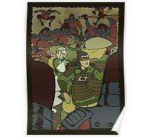 Legend of Green Lantern-Manhunter Equalists Poster