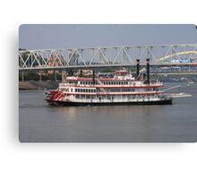 Belle of Cincinnati - BB Riverboats Canvas Print