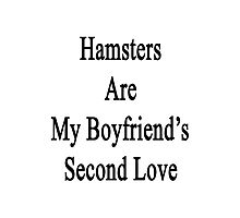 Hamsters Are My Boyfriend's Second Love  Photographic Print