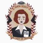 Dana Scully by Spencer Salberg