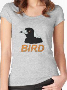 BIRD - Australian Magpie Women's Fitted Scoop T-Shirt