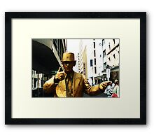 Goldman Thumbs Up Framed Print