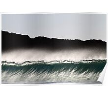 Fluid Glass- The Beauty of the Wave Poster